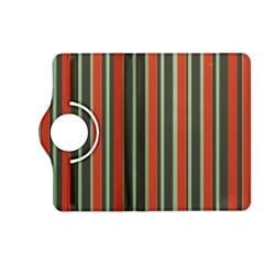 Festive Stripe Kindle Fire HD 7  (2nd Gen) Flip 360 Case