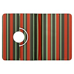 Festive Stripe Kindle Fire HDX 7  Flip 360 Case