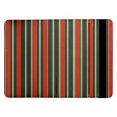 Festive Stripe Samsung Galaxy Tab Pro 12.2  Flip Case