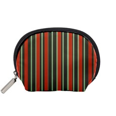 Festive Stripe Accessory Pouch (Small)