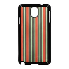 Festive Stripe Samsung Galaxy Note 3 Neo Hardshell Case (Black)
