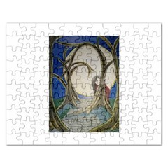 Beware Of Strangers (2) Jigsaw Puzzle (Rectangle)