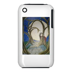 Beware Of Strangers (2) Apple Iphone 3g/3gs Hardshell Case (pc+silicone)