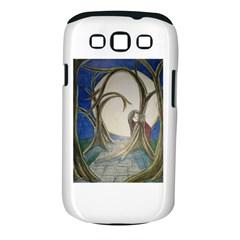 Beware Of Strangers (2) Samsung Galaxy S III Classic Hardshell Case (PC+Silicone)