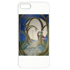 Beware Of Strangers (2) Apple Iphone 5 Hardshell Case With Stand