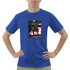 French Bulldog Sitting Men s T Shirt (colored)