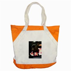 French Bulldog Sitting Accent Tote Bag