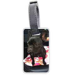 French Bulldog Sitting Luggage Tag (One Side)