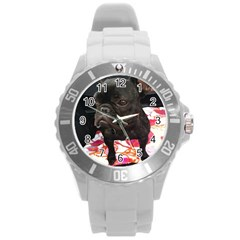 French Bulldog Sitting Plastic Sport Watch (large)