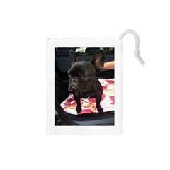 French Bulldog Sitting Drawstring Pouch (Small)