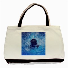 French Bulldog Swimming Classic Tote Bag