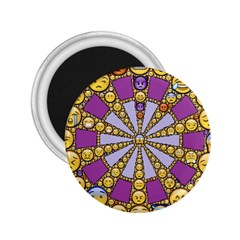 Circle Of Emotions 2.25  Button Magnet