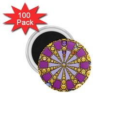 Circle Of Emotions 1 75  Button Magnet (100 Pack)