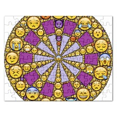 Circle Of Emotions Jigsaw Puzzle (Rectangle)
