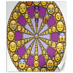 Circle Of Emotions Canvas 20  X 24  (unframed)