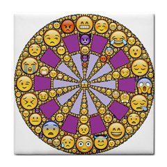 Circle Of Emotions Face Towel