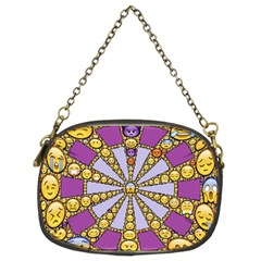Circle Of Emotions Chain Purse (two Sided)
