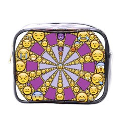 Circle Of Emotions Mini Travel Toiletry Bag (one Side)
