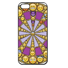 Circle Of Emotions Apple Iphone 5 Seamless Case (black)