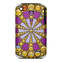 Circle Of Emotions Apple iPhone 3G/3GS Hardshell Case (PC+Silicone)