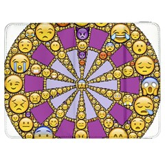 Circle Of Emotions Samsung Galaxy Tab 7  P1000 Flip Case