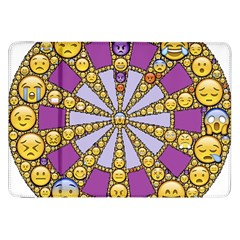 Circle Of Emotions Samsung Galaxy Tab 8.9  P7300 Flip Case