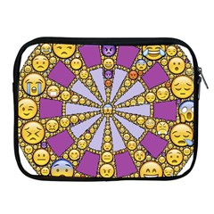 Circle Of Emotions Apple Ipad Zippered Sleeve