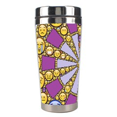 Circle Of Emotions Stainless Steel Travel Tumbler