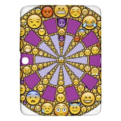 Circle Of Emotions Samsung Galaxy Tab 3 (10.1 ) P5200 Hardshell Case