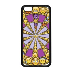 Circle Of Emotions Apple Iphone 5c Seamless Case (black)