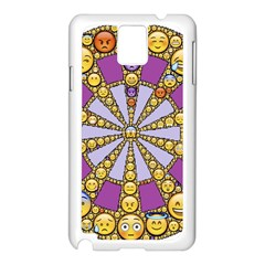 Circle Of Emotions Samsung Galaxy Note 3 N9005 Case (White)