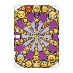 Circle Of Emotions Samsung Galaxy Note 10.1 (P600) Hardshell Case