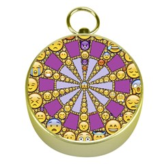 Circle Of Emotions Gold Compass