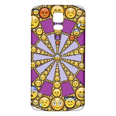Circle Of Emotions Samsung Galaxy S5 Back Case (white)