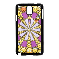 Circle Of Emotions Samsung Galaxy Note 3 Neo Hardshell Case (Black)