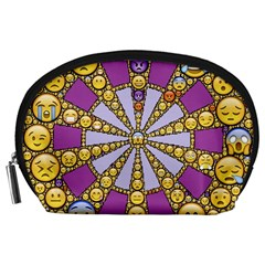 Circle Of Emotions Accessory Pouch (large)