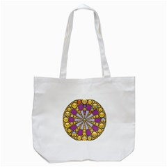 Circle Of Emotions Tote Bag (White)