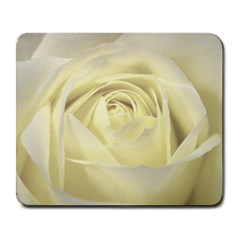Cream Rose Large Mouse Pad (rectangle)