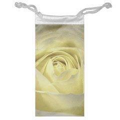 Cream Rose Jewelry Bag