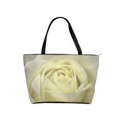 Cream Rose Large Shoulder Bag