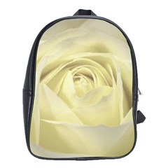 Cream Rose School Bag (large)