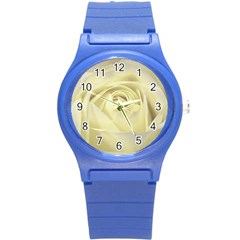Cream Rose Plastic Sport Watch (Small)