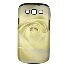 Cream Rose Samsung Galaxy S III Classic Hardshell Case (PC+Silicone)