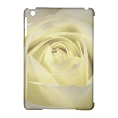 Cream Rose Apple iPad Mini Hardshell Case (Compatible with Smart Cover)