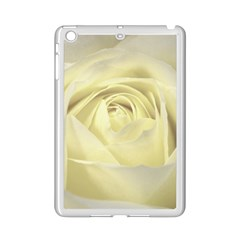 Cream Rose Apple iPad Mini 2 Case (White)