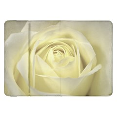 Cream Rose Samsung Galaxy Tab 8.9  P7300 Flip Case