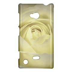 Cream Rose Nokia Lumia 720 Hardshell Case