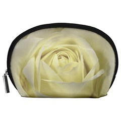 Cream Rose Accessory Pouch (large)