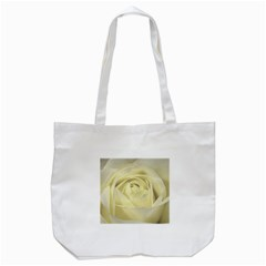 Cream Rose Tote Bag (White)
