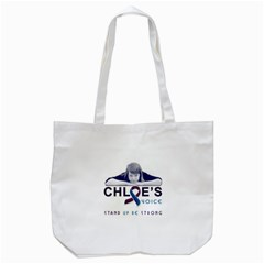 Chloes Voice Tote Bag (White)